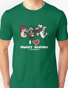 I love Rugby Sevens T-Shirt