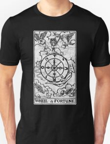 Wheel of Fortune Tarot Card - Major Arcana - fortune telling - occult T-Shirt