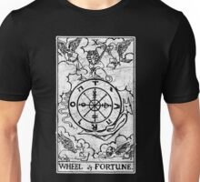 Wheel of Fortune Tarot Card - Major Arcana - fortune telling - occult Unisex T-Shirt