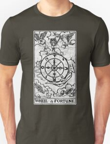 Wheel of Fortune Tarot Card - Major Arcana - fortune telling - occult Unisex T-Shirt