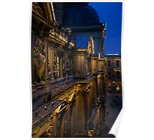 The Louvre - a Royal Palace, a Museum, an Architectural Marvel Poster