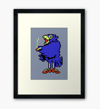 Crow - Mother / Earthbound Zero Framed Print