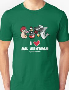 I love Hong Kong Sevens (Rugby, Party and Beer) T-Shirt