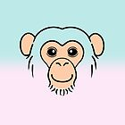 Chimpanzee Face by zoel
