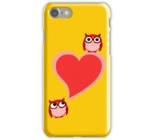 Hoo? Me? Blushing! iPhone Case/Skin