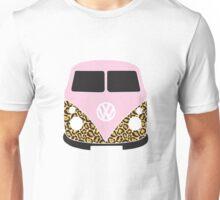Leopard Print VW Camper Unisex T-Shirt