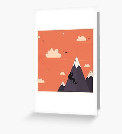 On the Top Greeting Card