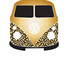 Leopard VW Camper Gold by splashgti