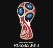 Russia 2018, Fifa World Cup logo (A) One Piece - Long Sleeve
