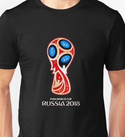 Russia 2018, Fifa World Cup logo (A) Unisex T-Shirt