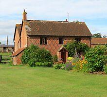 Farmhouse and Garden, Straite Rayleigh, Devon by MidnightMelody