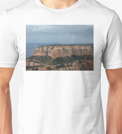 Grand Canyon Lightning Unisex T-Shirt