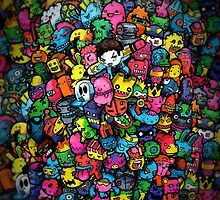 Doodle Monsters by Lei Melendres