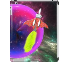 Chiroptera Rocket Ship Orbits the Purple Planet - iPad/iPhone/iPod cases iPad Case/Skin