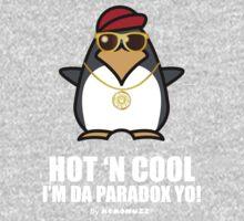 Hot and Cool, I'm da Paradox yo! - Hip Hop Penguin One Piece - Short Sleeve