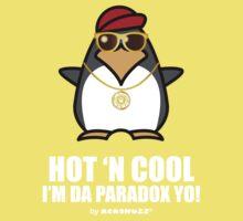 Hot and Cool, I'm da Paradox yo! - Hip Hop Penguin Kids Clothes