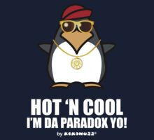 Hot and Cool, I'm da Paradox yo! - Hip Hop Penguin Kids Tee