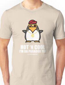 Hot and Cool, I'm da Paradox yo! - Hip Hop Penguin Unisex T-Shirt