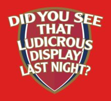 Did you see that ludicrous display last night? by innercoma