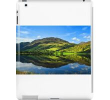 Rural scenic countryside loch nature landscape photography in scotland iPad Case/Skin