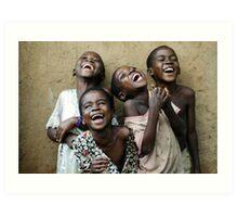 True Happiness Art Print