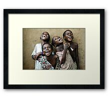 True Happiness Framed Print