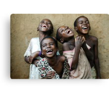 True Happiness Canvas Print
