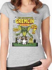 The Mischievous Gremlin Women's Fitted Scoop T-Shirt