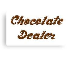 chocolate dealer Canvas Print