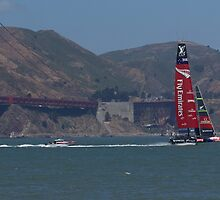 America's Cup Red Hot by crankster-aus
