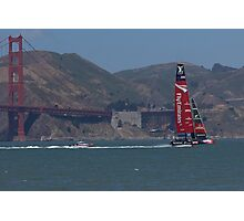 America's Cup Red Hot Photographic Print