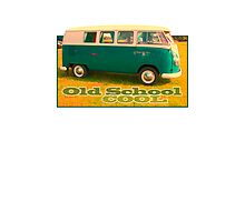 VW Camper Old School Photographic Print