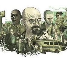 Breaking Bad Poster by sunnylemon
