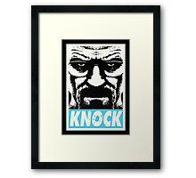 Breaking Bad - Knock Framed Print