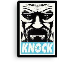 Breaking Bad - Knock Canvas Print