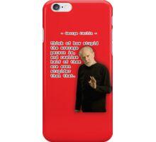 George Carlin - Stupid People iPhone Case/Skin