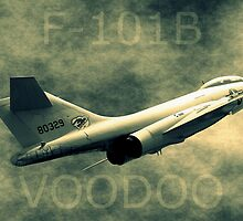F101B Voodoo by Betty Northcutt
