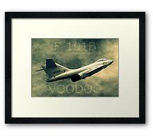 F101B Voodoo Framed Print