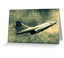 F101B Voodoo Greeting Card