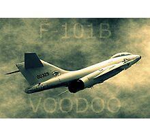 F101B Voodoo Photographic Print
