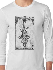 The Hanged Man Tarot Card - Major Arcana - fortune telling - occult Long Sleeve T-Shirt