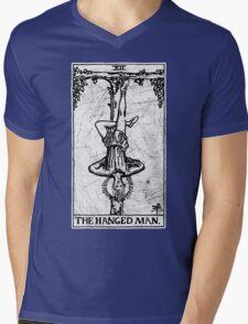 The Hanged Man Tarot Card - Major Arcana - fortune telling - occult Mens V-Neck T-Shirt