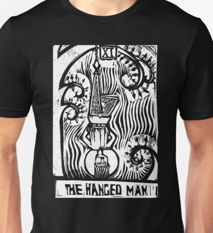 The Hanged Man - Tarot Cards - Major Arcana Unisex T-Shirt