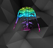 Darth Vader Geometric Style Illustration by hacketjoe