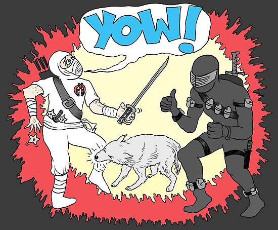 Wolf Beats Ninja by Jason Young