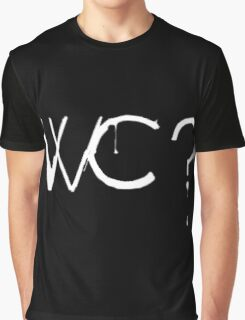 What Colour? White Graphic T-Shirt