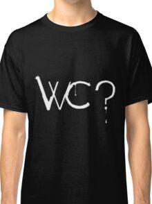 What Colour? White Classic T-Shirt