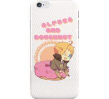Chibi Alfred & Doughnut iPhone Case/Skin