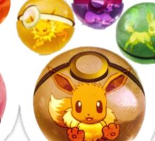 Eevolutions | Pokeball Insider Sticker