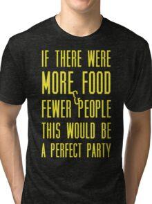 Ron Swanson perfect party Tri-blend T-Shirt